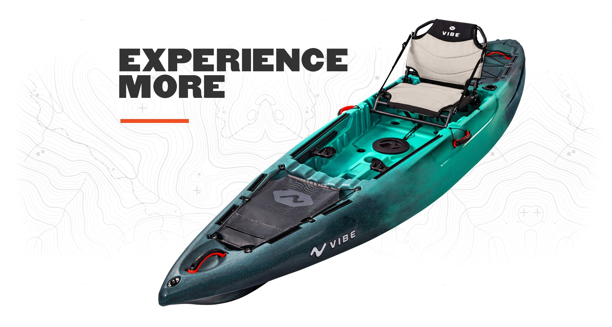Vibe Yellowfin 100 10 foot sit on top kayak