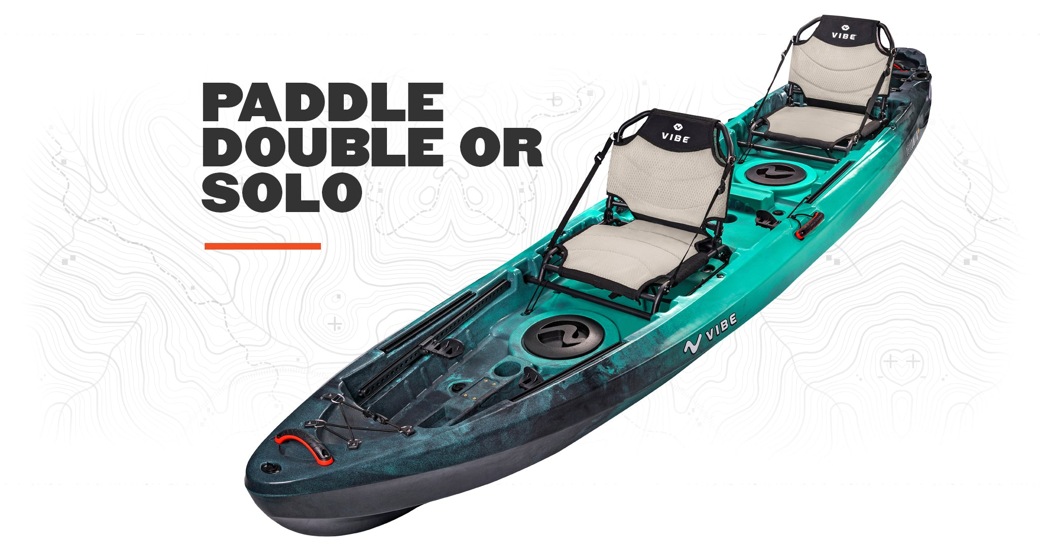 Vibe Yellowfin 130T Tandem Fishing Kayak