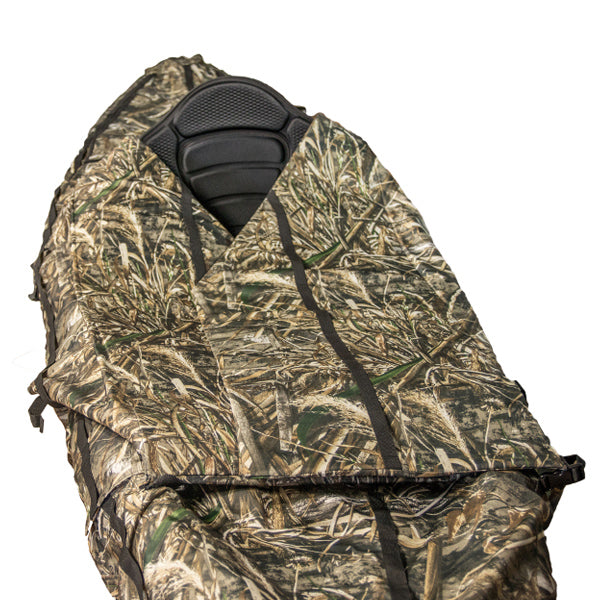 Yak Gear Ambush Camo Kayak Cover & Hunting Blind