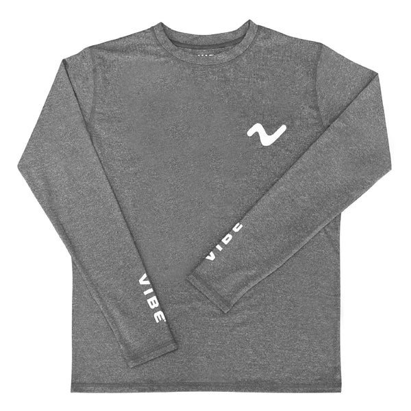 Vibe Performance Long Sleeve Shirt - Smoke on The Water