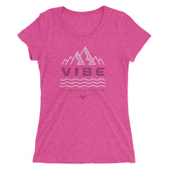 Mother Nature is Waiting Ladies' Slim-Fit T-shirt