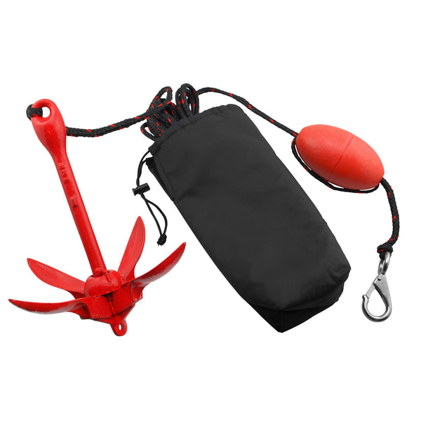 Vibe 3.5lb Grapnel Anchor and 25ft Rope