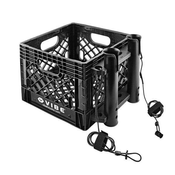 Vibe 16 Quart Milk Crate - Fishing Kit