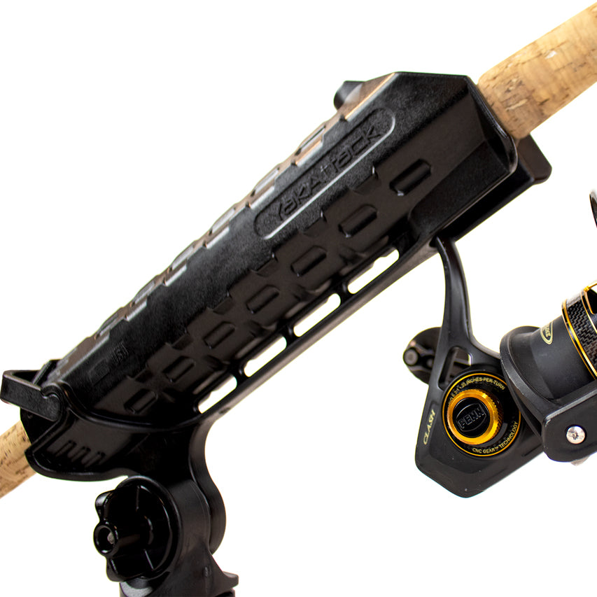 Yakattack Ar Tube Rod Holder With Track Mounted Locknload