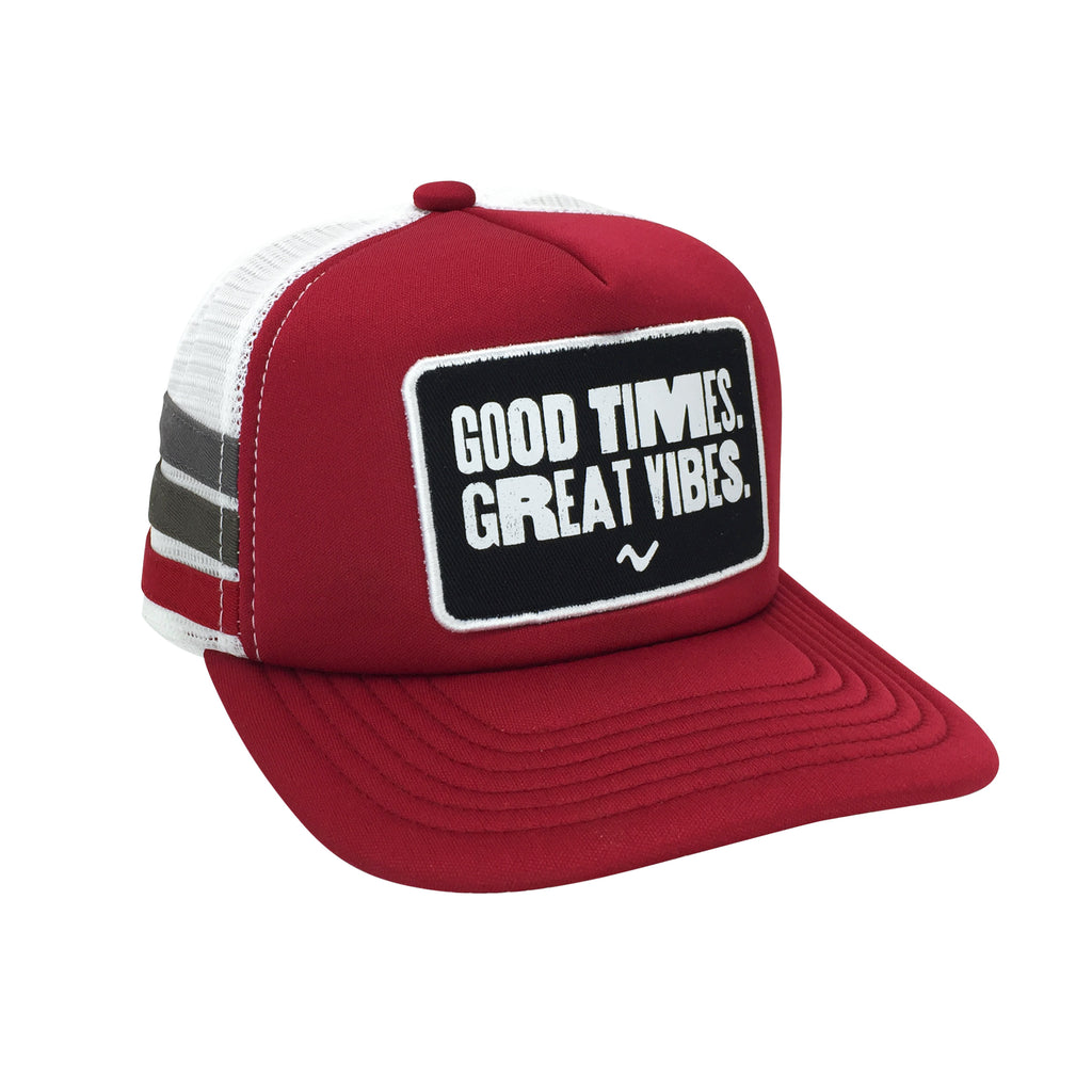 Vibe Hat - Good Times Mesh Back