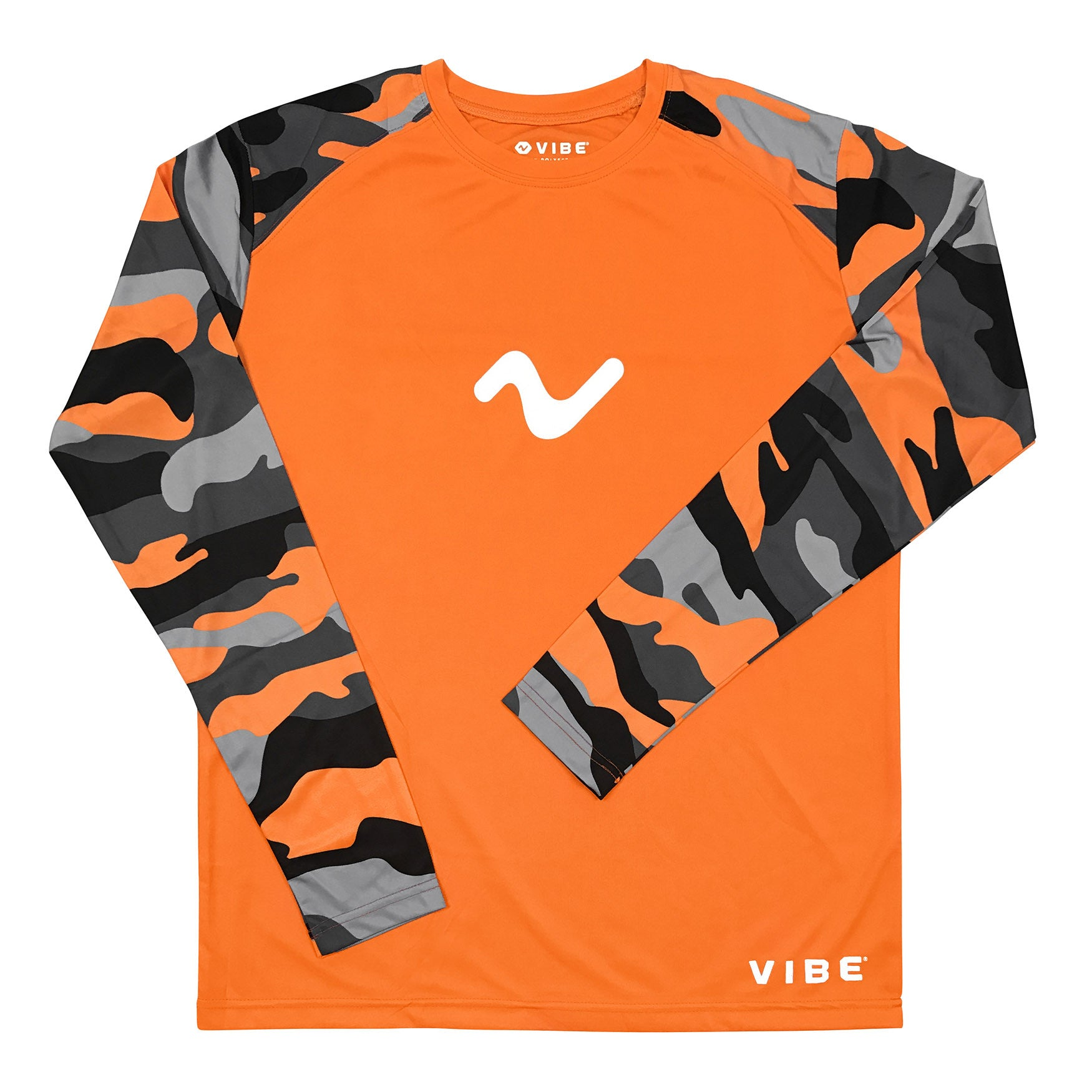 Vibe Performance Long Sleeve Shirt - Vintage Orange