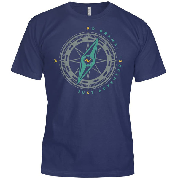 Vibe No Drama Compass T-Shirt