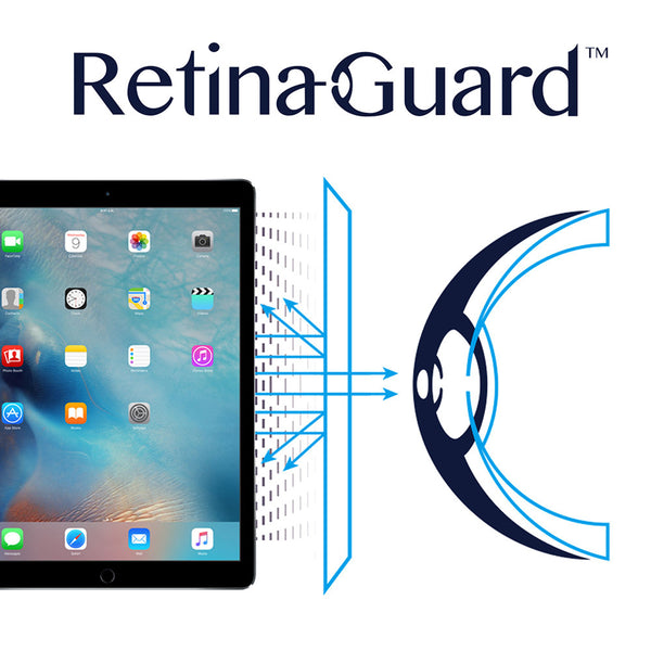 "Anti-Blue Light Screen Protector - iPad Pro 12.9"" - RetinaGuard Store - Anti-Blue Light Screen Protectors for iPhones, iPads and Macbooks"