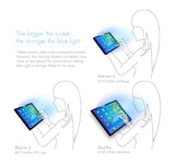 "ANTI-BLUE LIGHT TEMPERED GLASS SCREEN PROTECTOR  FOR 2020 iPad Pro 11"" compatible with 2018 IPAD PRO 11"""