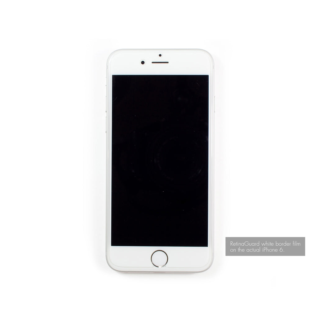Anti Blue Light Screen Protector White Border For Iphone