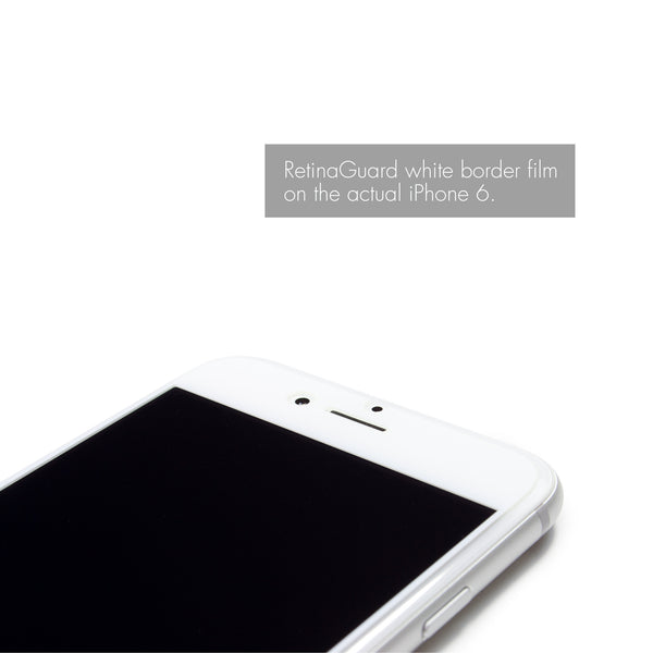 Anti Blue Light Screen Protector (White Border) for iPhone 6S/6 Plus