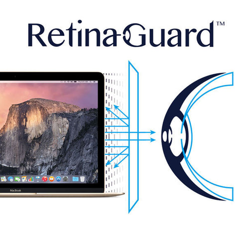 "Anti-Blue light Screen Protector - Macbook Pro 12"" - RetinaGuard Store - Anti-Blue Light Screen Protectors for iPhone 7, 7 Plus, 6s, 6s Plus, iPads and Macbooks"