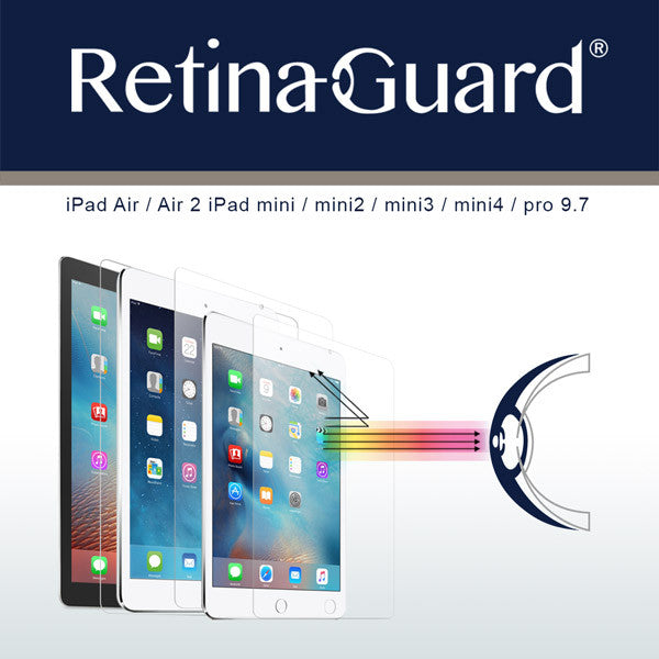 RetinaGuard anti blue light screen protectors