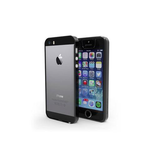Protective Bumper with Anti-Blue Light Screen Protector for iPhone 5S