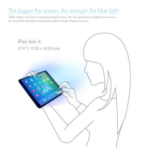 Anti-Blue Light Tempered Glass Screen Protector - iPad Pro 10.5""