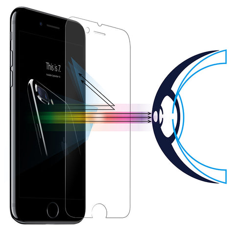 Anti Blue Light Tempered Glass Screen Protector for iPhone 7