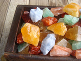 Calcite, Mixed Colors