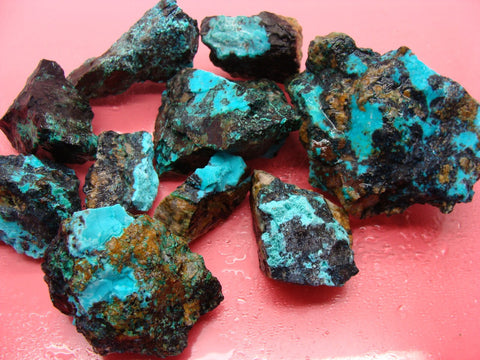 Chrysocolla, Tyrone NM