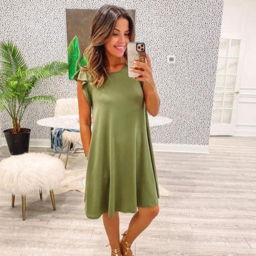 Denver Dress - Green