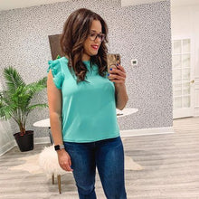 Star Blouse - Turquoise