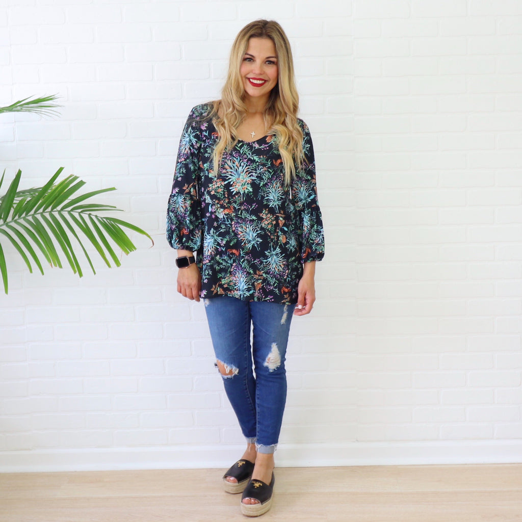 Solerna in Midnight - Blouses