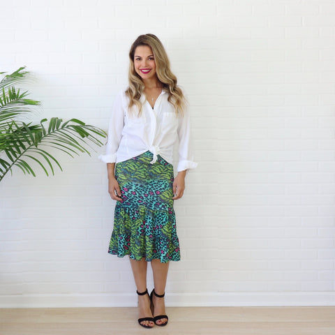 Wild for You - Aliyah Skirt