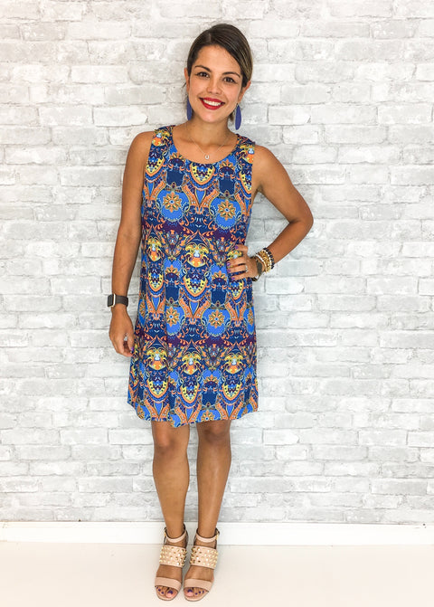 Ivy Dress - Cayman