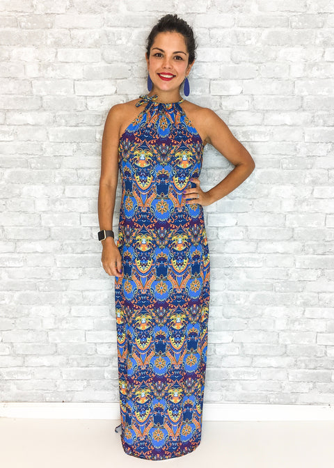 Emily Maxi Dress - Cayman