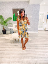 Demi Dress (Loose) - Sunshine Jungle