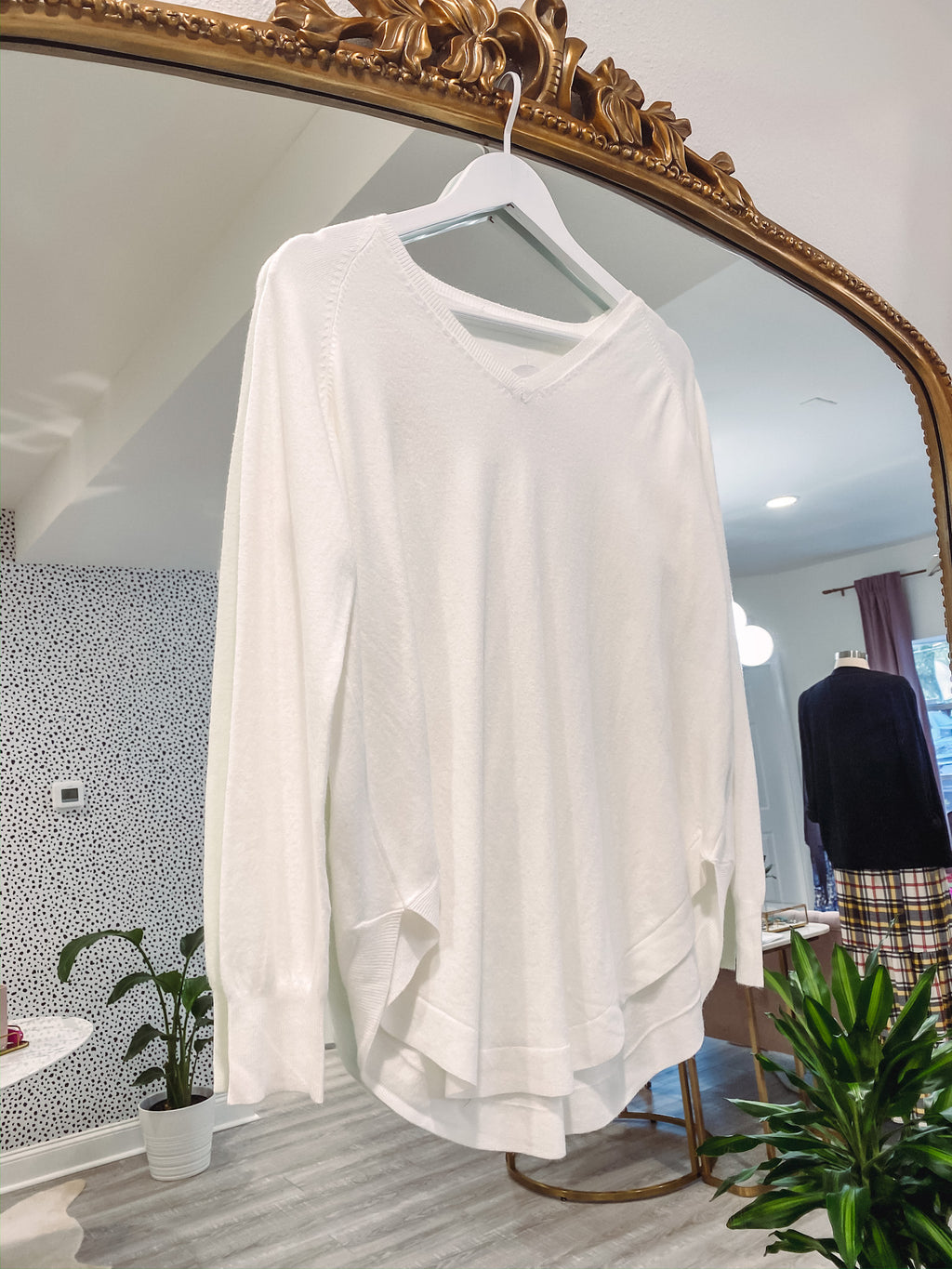 Posey Sweater - Ivory