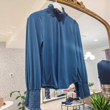 Ariel Blouse - Navy