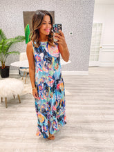 Jo Dress (Loose) - Abstract Floral
