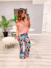 Presley Pants - Abstract Floral