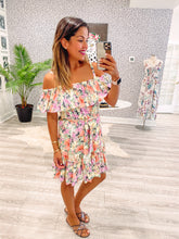 Harley Dress - White Floral