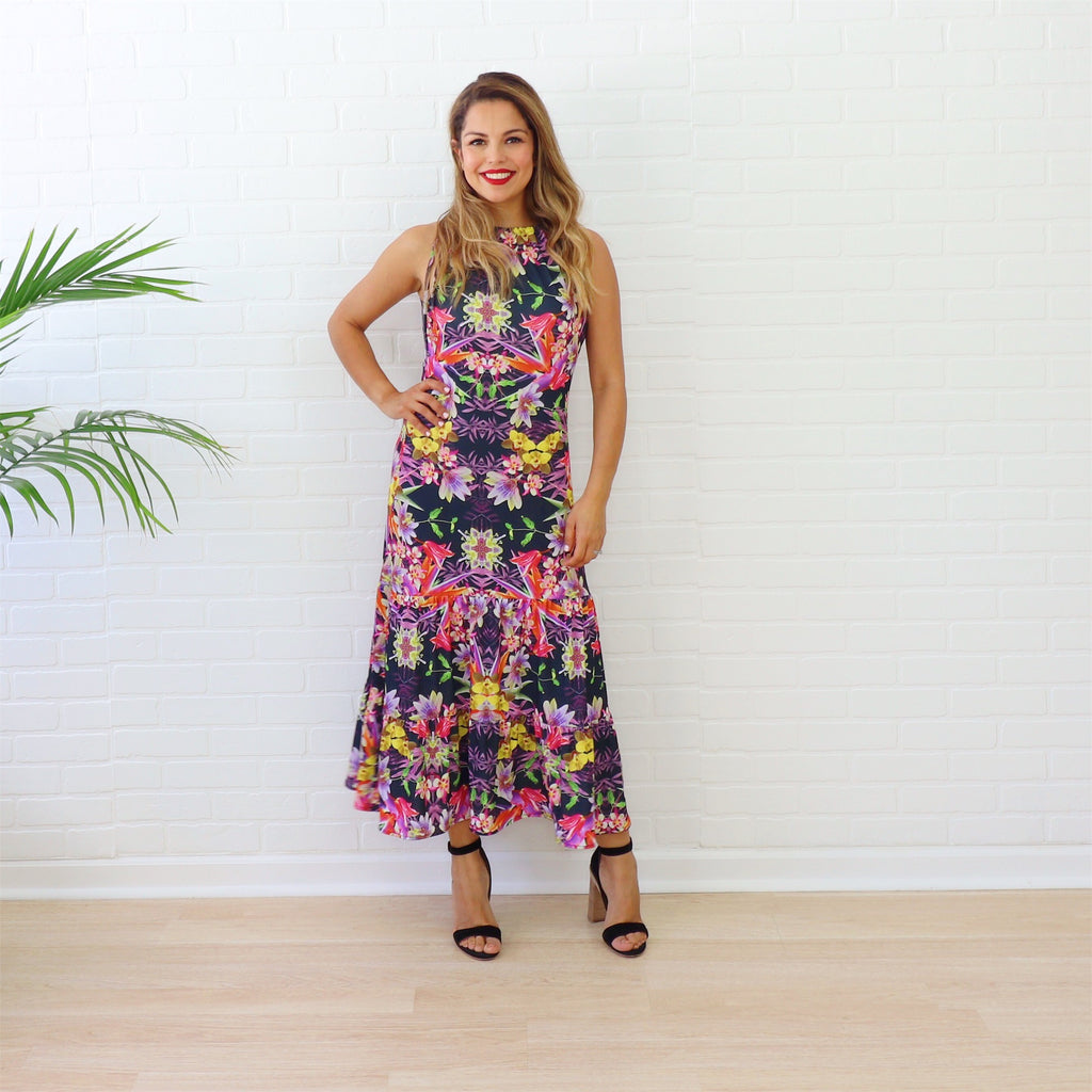 Tropical Thunder - Mara Dress