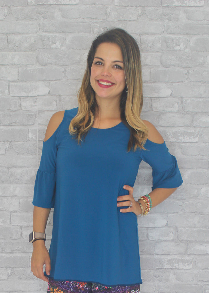 Marcy Blouse - Teal