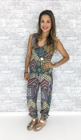 Indian Summer - Caroline Jumpsuit