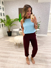 Rona Pants - Dark Burgundy