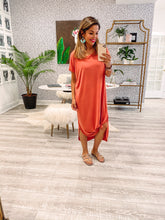 Jayla Dress - Rust