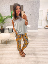 Rona Pants - Sunshine Paisley