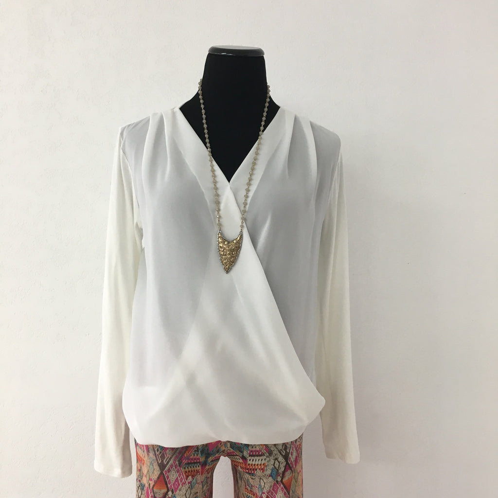 Monique Blouse - Ivory