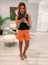 Courtney Shorts - Fire Orange