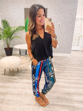 Rona Pants - Tropic Stripe