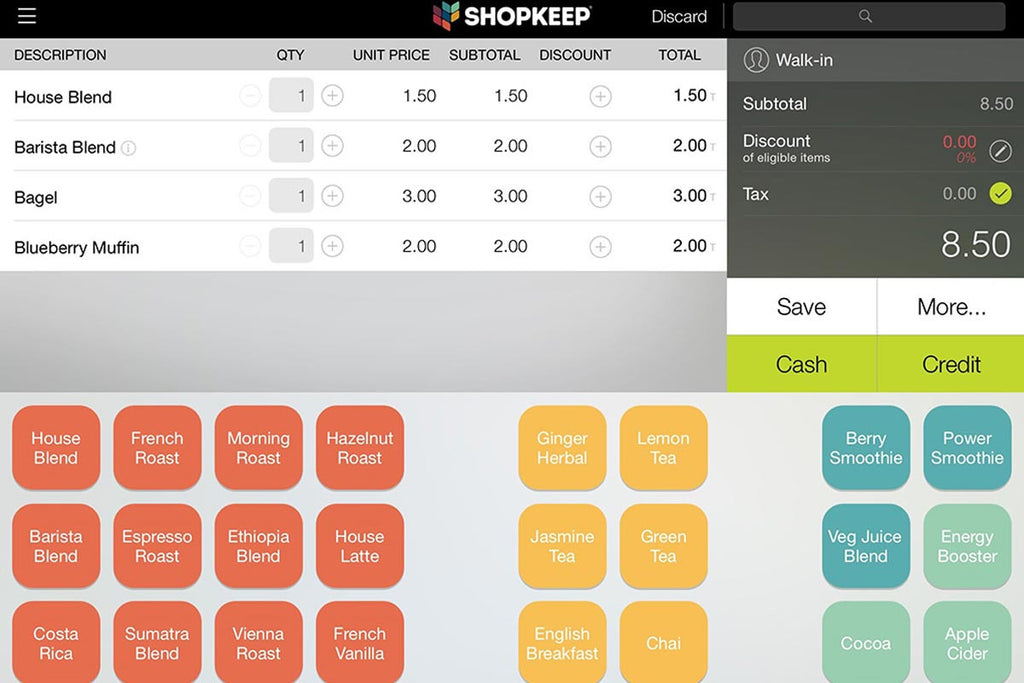 What is the ShopKeep POS Tablet App