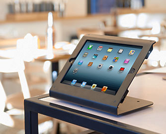 Edge iPad Stand is POS Ready