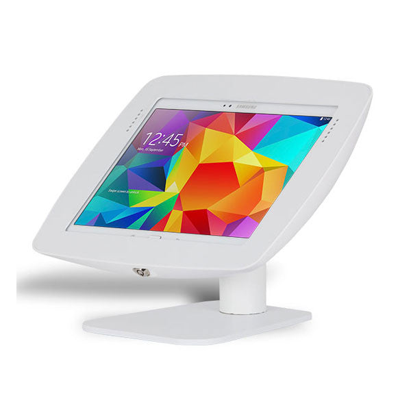 Rotate and Flip | Fusion Free Standing Tablet Kiosk Stand - BOSS-TAB Premium Tablet Enclosures & Kiosks - 4