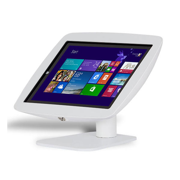 Rotate and Flip | Fusion Free Standing Tablet Kiosk Stand - BOSS-TAB Premium Tablet Enclosures & Kiosks - 6