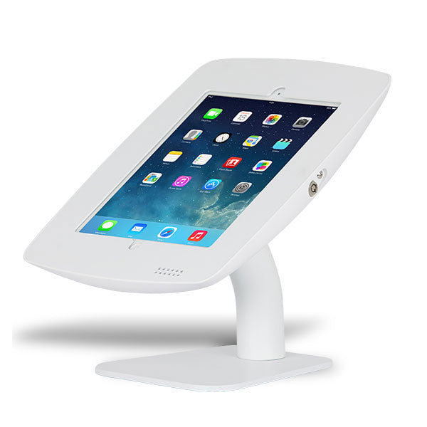 Rotate Only | Fusion Free Standing Tablet Kiosk Stand - BOSS-TAB Premium Tablet Enclosures & Kiosks - 3