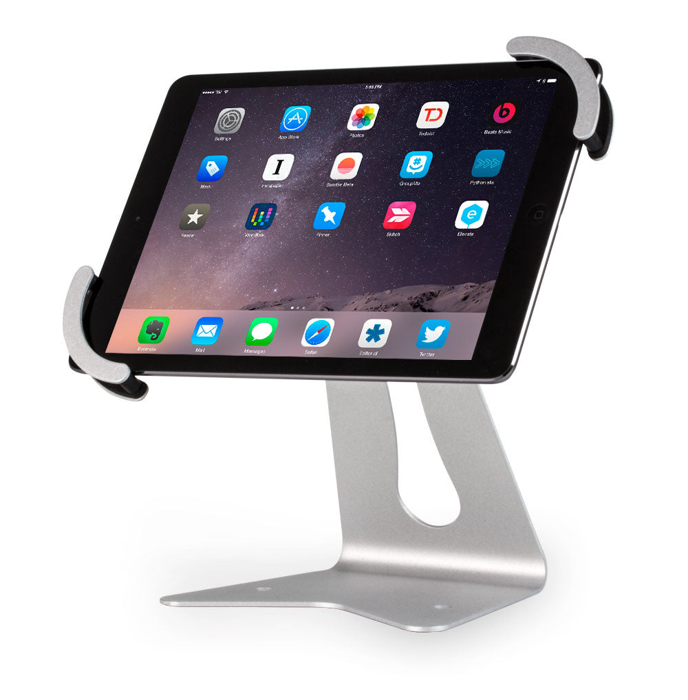 Twist Universal Tablet Stand - BOSS-TAB Premium Tablet Enclosures & Kiosks - 1
