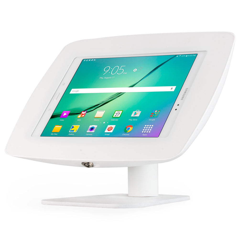 Rotate and Flip | Fusion Free Standing Tablet Kiosk Stand - BOSS-TAB Premium Tablet Enclosures & Kiosks - 8